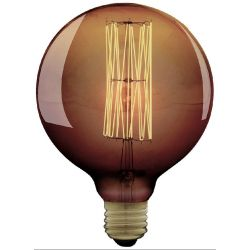 Goldline Globe E27 - Ampoule décorative filament visible - Calex
