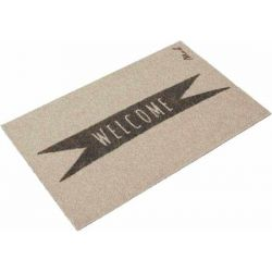 Tapis Cooper Mad about Mats, toucher grattant 50x75, antidérapant
