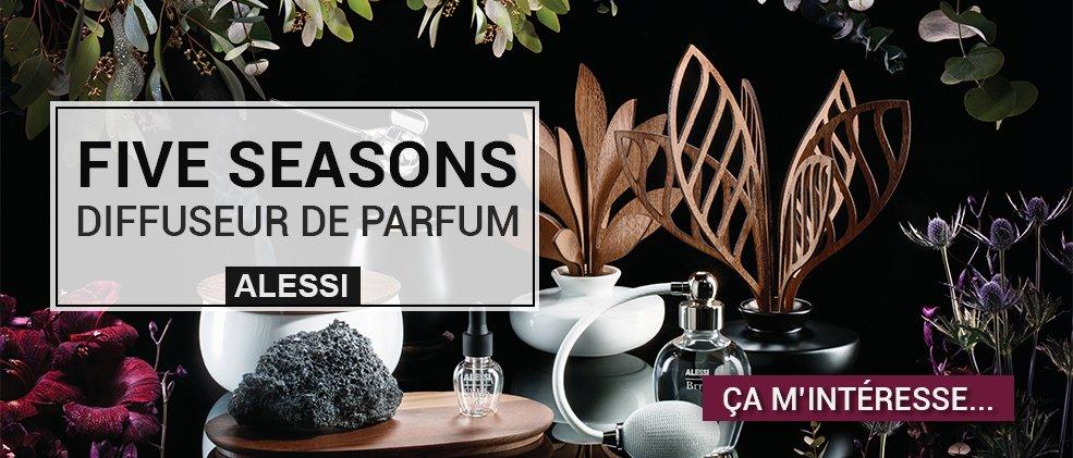 Alessi The Fives Seasons - Diffuseurs de parfum